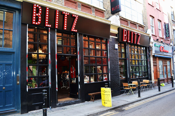 and definitely best stocked, vintage store, simply named Blitz